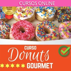 DONUTS GOURMET (CURSO ONLINE)