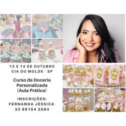 CURSO DE DOCERIA PERSONALIZADA (Aula Prática))