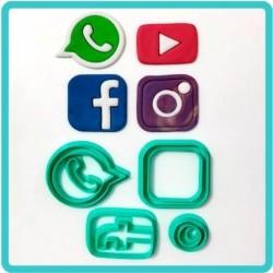 Cortador Redes Sociais