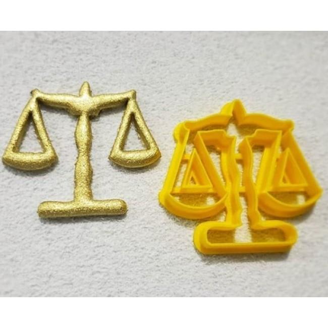 Cortador Simbolo Direito Balança II