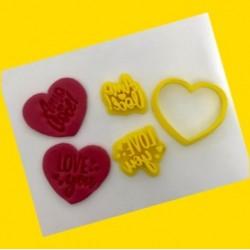 Cortador Coração Dia Dos Namorados