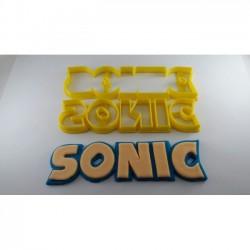Cortador Logo Do Sonic Pequeno Para Decorar