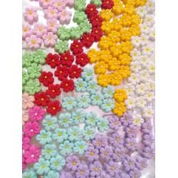 Confeito De Açúcar Mini Flor Para Docinhos 12 Unidades