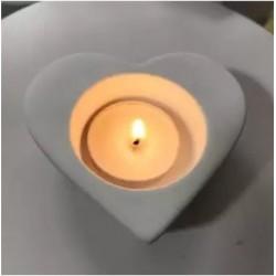 Molde De silicone Vaso De Coração Para Decorar