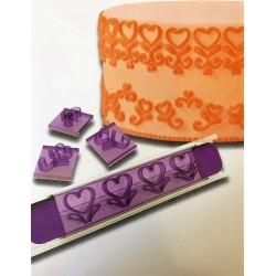 Kit Marcador De Corações Para Decorar Coração