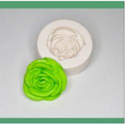 Molde De Silicone Flor Rosa Grande Detalhada Para Decorar