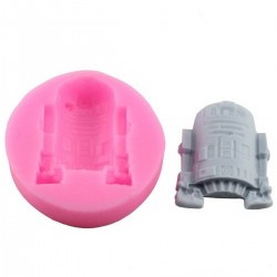 Molde de Silicone Robo Star Wars BB-08
