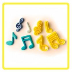 Cortador Notas Musicais Grande 5CM