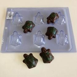 Forma Acetato Bombom tartaruguinhas Para Decorar Tartaruga