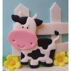 Cortador Vaca Para Decorar Fazendinha Animais