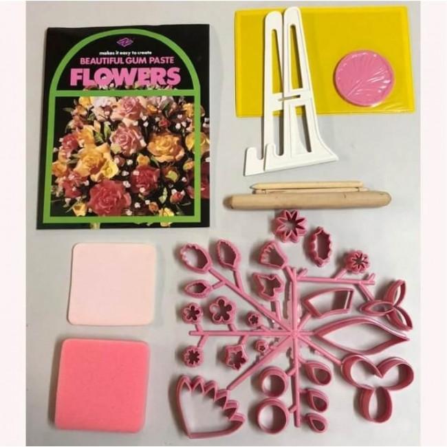 Cortador Kit Para Modelagem de Flores e Folhas