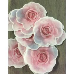 Papel de Arroz Flor Rosas Para Decorar