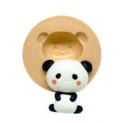 Molde de Silicone Kawaii Panda