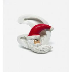 Molde de Silicone Papai Noel  Mago Para Decorar Natal
