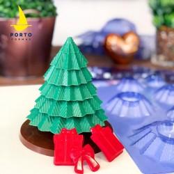 Forma Arvore de Natal 3D Para Decorar Natal