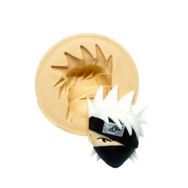 Molde de Silicone Naruto Rosto Kakashi