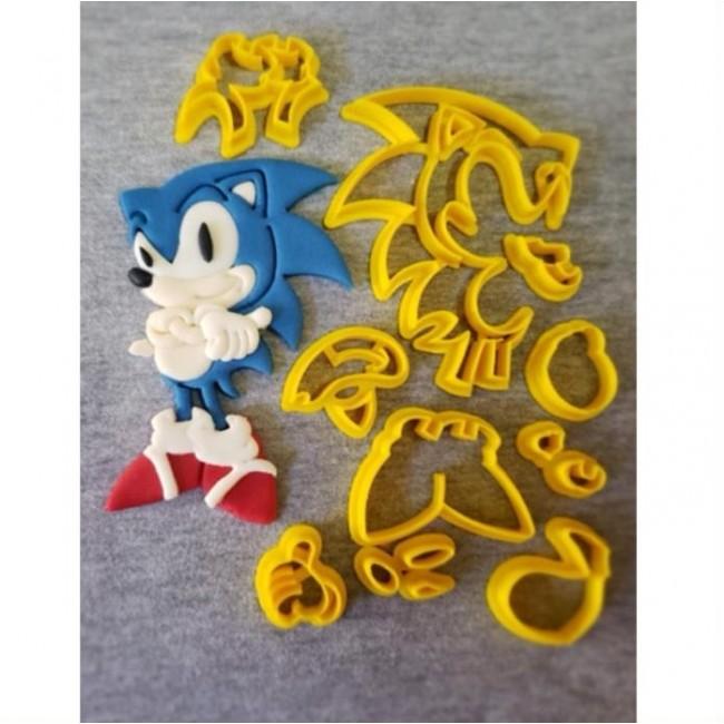 Cortador Sonic Grande Para Decorar 12CM
