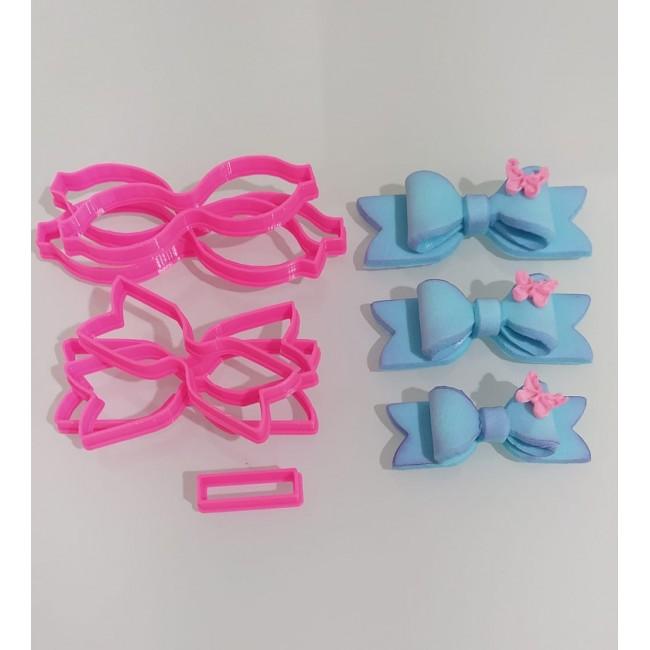 Cortador Laços Kit Com 3