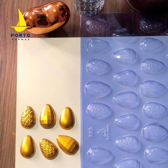 Forma Ovos de Páscoa 3 em 1 10g Simples