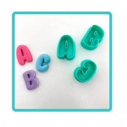 Cortador Alfabeto 26 Letras 2cm