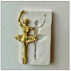 Molde de Silicone Bailarina Ballet