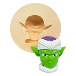Molde de Silicone Dragon Ball Rosto Piccolo