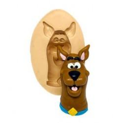 Molde de Silicone Rosto Scooby Doo