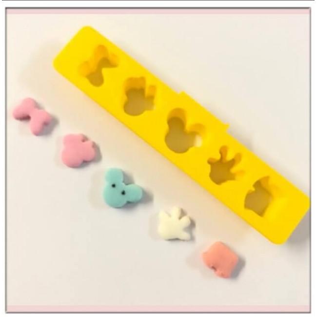 Cortador Mickey e Minnie Para Fazer Confetes