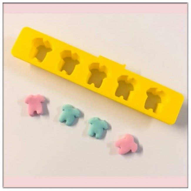 Cortador Roupa Bebê Para Fazer Confetes