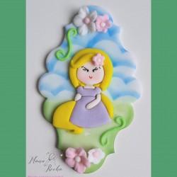 Cortador Princesa Rapunzel
