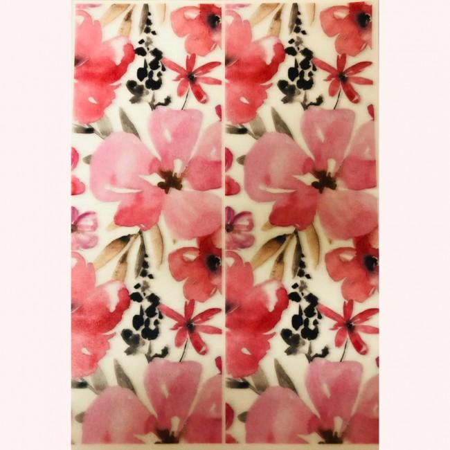 Papel de Arroz Floral 1 Uni
