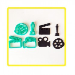 Cortador Kit Cinema Para Decorar
