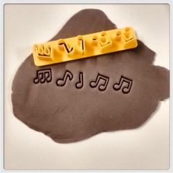 Cortador Para Fazer Confetes Notas Musicais