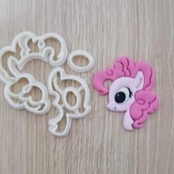Cortador My Little Pony - Pony Pink