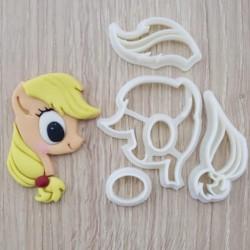 Cortador My Little Pony - Pony AppleJack