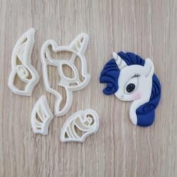 Cortador My Little Poney - Pony Rarity