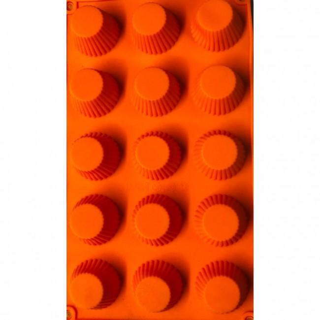 Forma de Silicone Mini Cupcakes