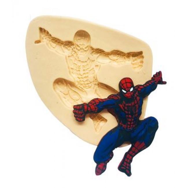 Molde de Silicone Homem Aranha Para Decorar Herois