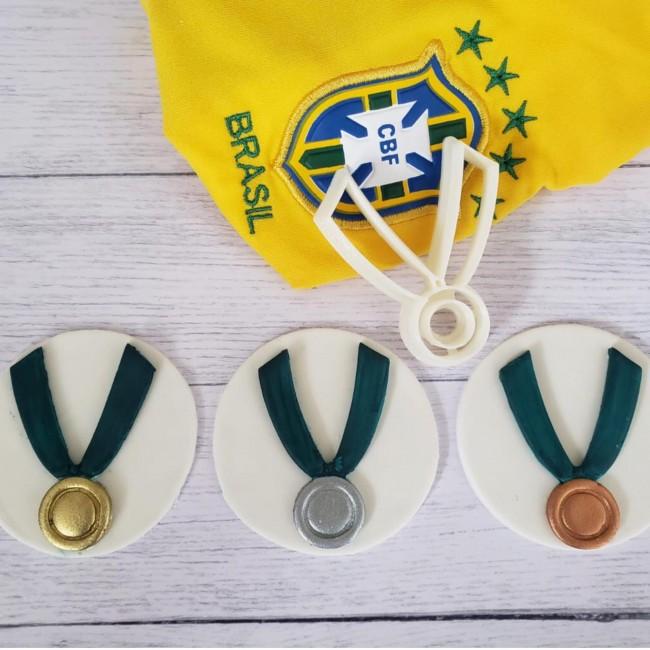 Cortador Medalha Olimpiadas Para Decorar Esportes
