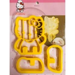 Cortador de Biscoito Hello Kitty Para Decorar