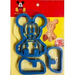 Cortador Mickey Para Biscoito
