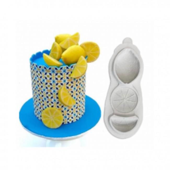 Molde de Silicone Laranjas Decorar Frutas