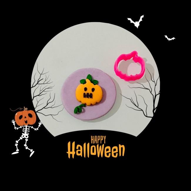 Cortador Mini Abobora Decorar Halloween