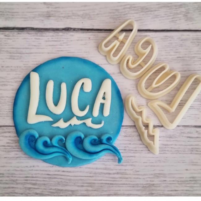 Cortador Logo Luca Filme Disney Mod 2