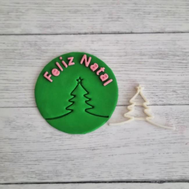 Carimbo Marcador Arvore de Natal