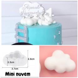 Molde de Silicone Mini Nuvem Sonho Doce