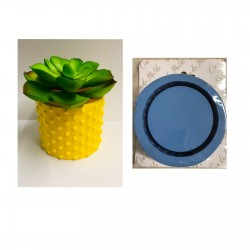 Molde de Silicone Vaso Formato POA