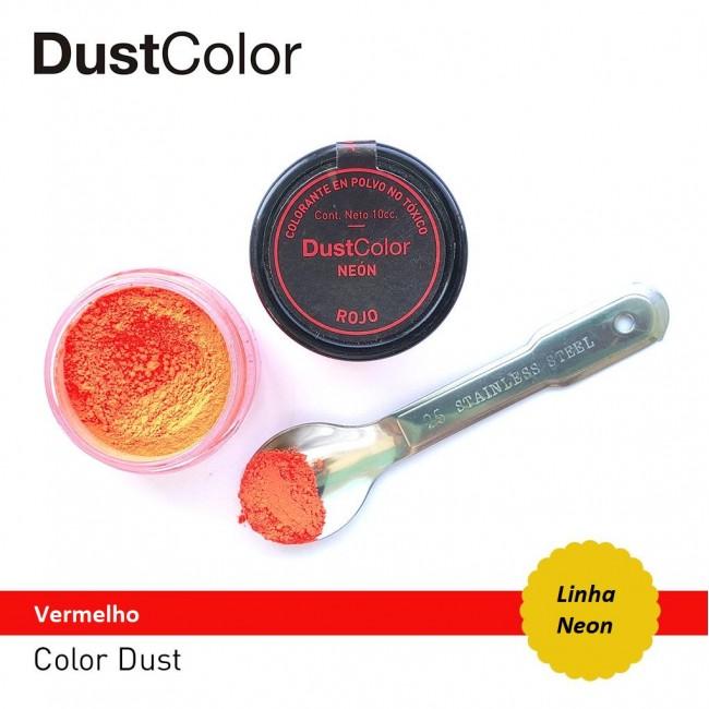 DustColor - Corante Vermelho Neon Importado