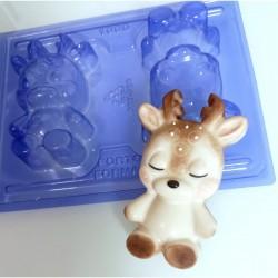 Forma Cervo Decorar Natal Especial 3 Partes