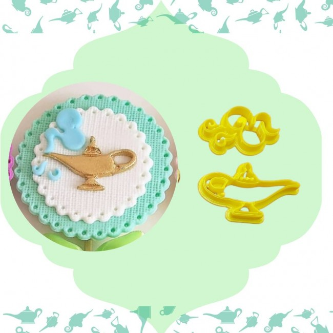 Cortador Lâmpada do Gênio, Aladin, Disney